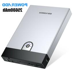 Poweradd 25600mAh Portable Power Bank AC Outlet Business Tra