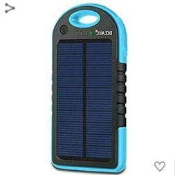$30 MSRP Dizaul 5000mAh Portable Solar Power Bank. Universal