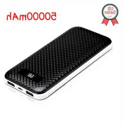 50000mAh LCD Portable External Batery Charger Fast Charging