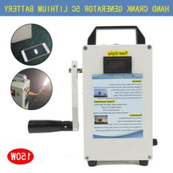 hand crank generator phone charger portable portable