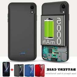For iPhone XS Max XR Battery Phone Case Portable Charger Pow