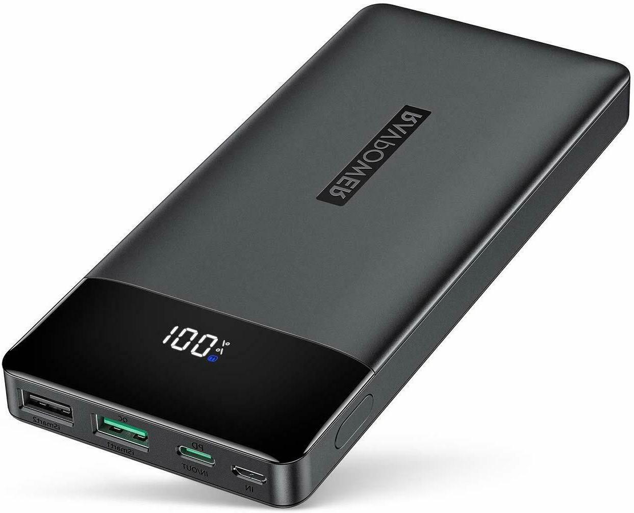 portable charger pd 3 0 15000mah power