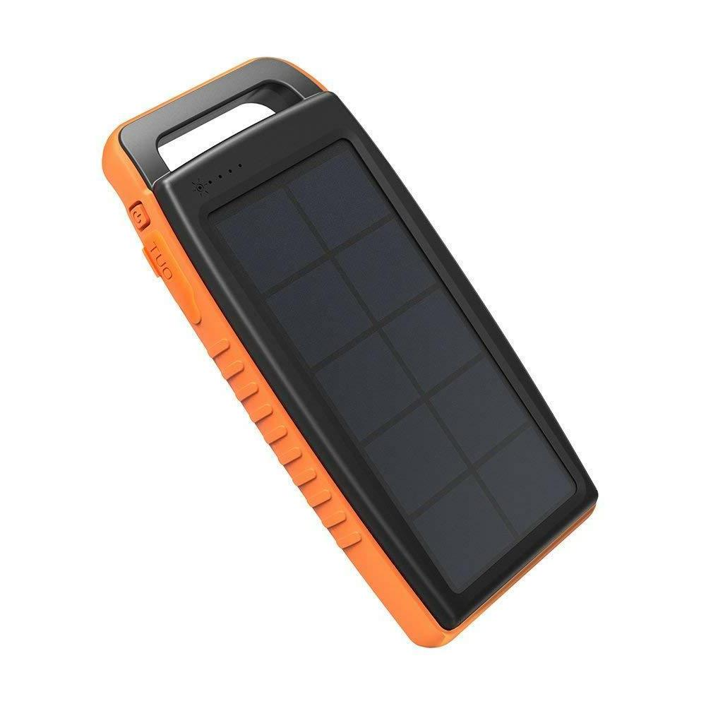 solar charger 15000mah outdoor portable charger solar