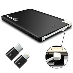 Mini Portable Power Bank External Battery Pack Charger USB-C