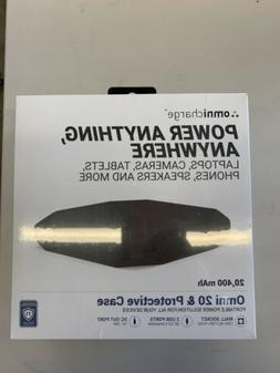Omnicharge Omni-20 Portable Power Bank Charger Phone Laptop