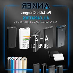 Anker Portable Battery Fast Charger Quick Power Bank 3350 15