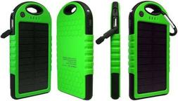 Portable Shockproof Waterproof Solar Power Bank/Charger USB
