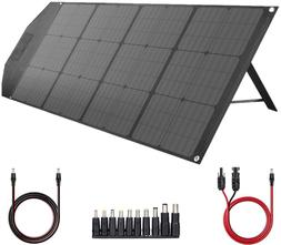 TISHI HERY 100W Portable Foldable Solar Panel Charger for Po