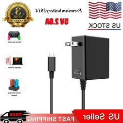 Wall Charger for Nintendo Switch Portable AC Adapter with Po